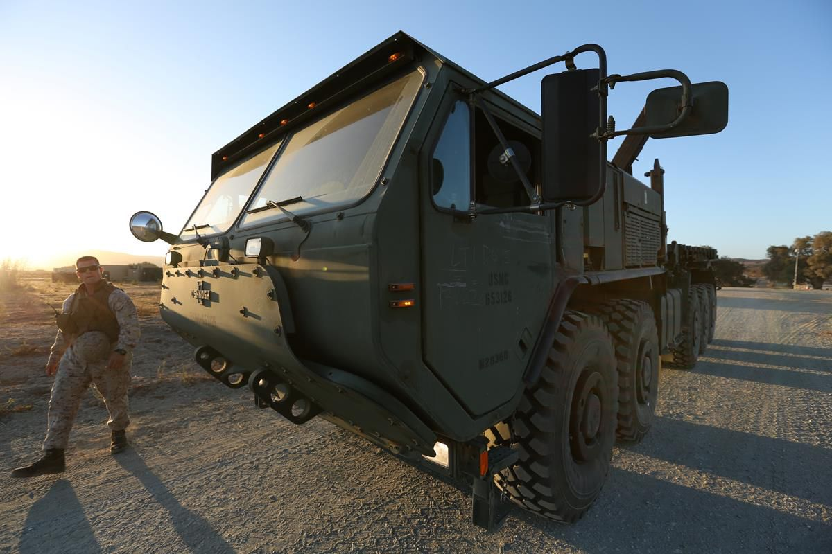 1st Marine Logistics Group Field Exercise